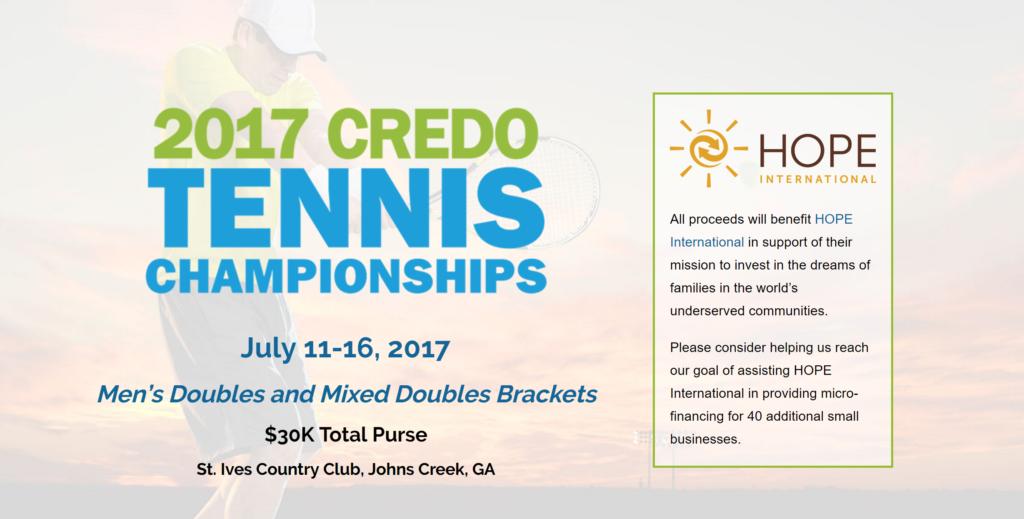 2017 Credo Tennis Championships