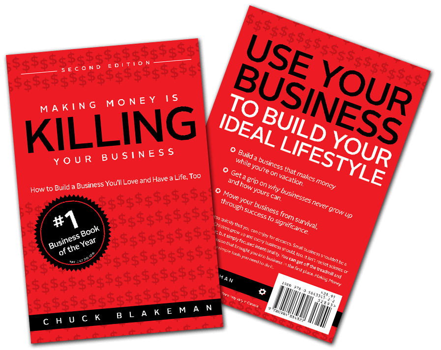 Making Money Is Killing Your Business Book Cover