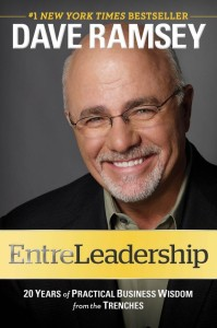 EntreLeadership Dave Ramsey Book