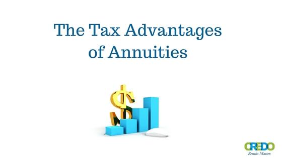 The Tax Advantages of Annuities - Credo Financial Services - Atlanta, Ga